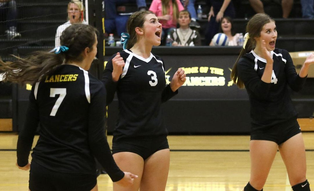 Lancers Land FOUR on All-State Volleyball Team